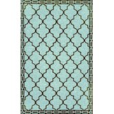 Ravella Floor Tile Aqua Indoor / Outdoor Rug