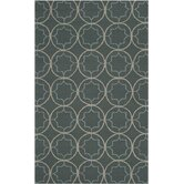 Rain Stormy Sea Circle Rug