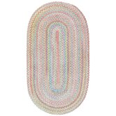 Baby's Breath Pink Kids Rug