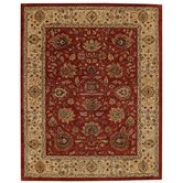 Forest Park Dark Red/Gold Zieglar Rug