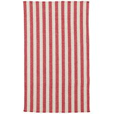Nags Head Red Stripe Rug