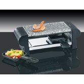 Raclette Hot Stone Duo 2 Pf&auml;nnchen