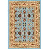 Yazd Blue/Cream Rug