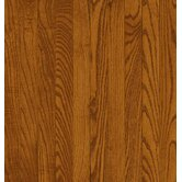 Dundee Plank 3-1/4&quot; Solid Red / White Oak in Gunstock