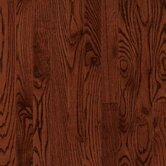 Dundee Wide Plank 4&quot; Solid Red Oak in Cherry