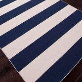 Pura Vida Deep Navy Stripe Rug