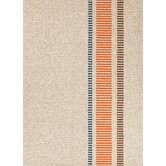 Grant Design I-O Beige/Brown Stripe Indoor/Outdoor Rug