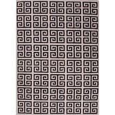 Urban Bungalow Gray/Black Geometric Rug