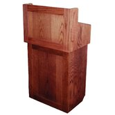 Non Sound Oxford Two Piece Lectern in Oak