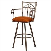 "Seville 26"" Counter Stool w/ Arms"