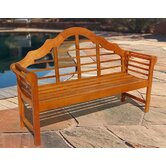 Outdoor Wood Garden Bench
