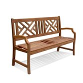 Wood Garden Bench