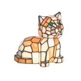 Tiger Cat Two Light Accent Table Lamp