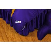 Louisiana State University Bed Skirt