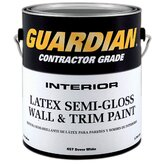 1 Gallon Semi-Gloss Dover White Contractor Grade Interior Latex Wa