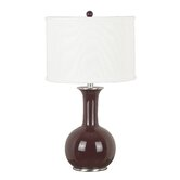 Mimic Table Lamp in Gloss Chocolate