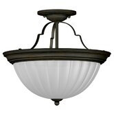 Interlude 13&quot; 2 Light Semi Flush Mount