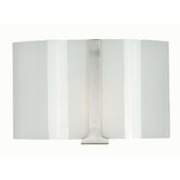 Lourdes  Wall Sconce in Brushed Steel