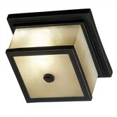 Plateau Outdoor Flush Mount in Oil Rubbed Bronze