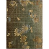 Radiant Impressions Green/Brown Rug