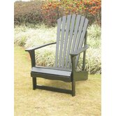 Adirondack Chair with Optional Footrest