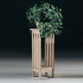 Unfinished Wood Plant Stand