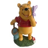 Disney Winnie-The-Pooh with Butterfly Friend Statue