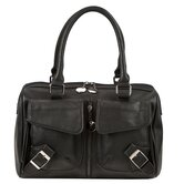 Buckle Satchel Handbag