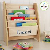 Personalized Sling Book Shelf in Natural
