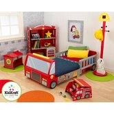 Firefighter Car Bedroom Collection