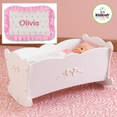 Personalized Tiffany Bow Lil Doll Cradle