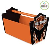 Harley Davidson Flames Toy Caddy