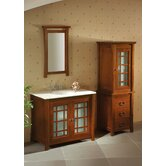"Orient Shoji 36"" Bathroom Vanity with Matching interiors"
