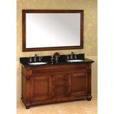 "Traditions Torino 60"" Double Bathroom Vanity"