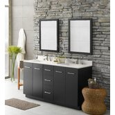 Arden Double Bathroom Vanity Set with Stone Top