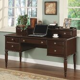 Lancaster Standard Desk Office Suite with Optional Hutch