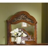 Terrassa Framed Crowned Top Dresser Mirror
