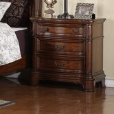 Mill Creek 3 Drawer Nightstand