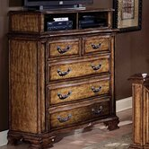 Santiago Media 5 Drawer Chest and Media Deck