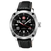 Outback Military Wrist Watch with Black and White Dial