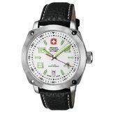 Outback Watch with White Dial and Black Strap