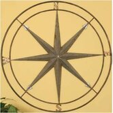 "Compass Wall Decor - 27"" x 27"""