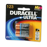 Ultra High Power Lithium Battery, 123, 3V, 2/Pack