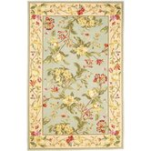 Winslow Wedgewood Blue/Cream Floral Oasis Rug