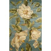 Catalina Light Blue Magnolia Rug