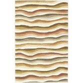 Cosmopolitan Earth Tones Wave Rug