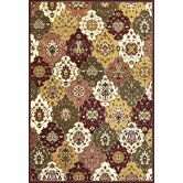 Cambridge Jeweltone Panel Rug