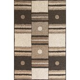 Milan Ivory/Mocha Dominoes Rug