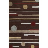 Milan Brown Horizons Rug