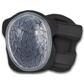 ProFlex Low-Profile Cap Honeycomb Gel Knee Pad in Black